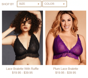 6522240e4d32f Bralette plus size - Collection Hips   Curves is real feast for your ...